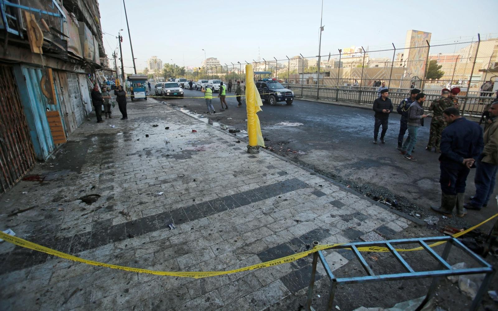 Twin blast in Baghdad