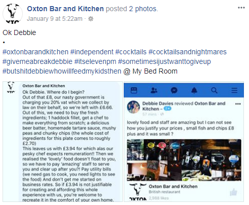 Oxton Bar and Kitchen