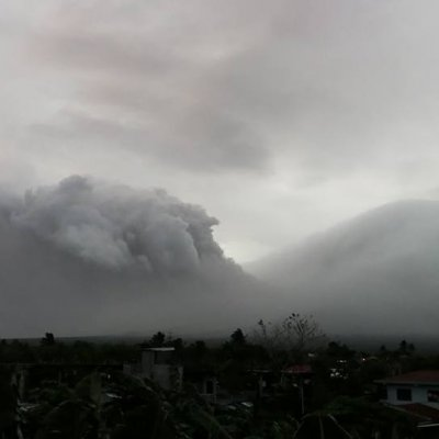 Mount Mayon Philippines volcano eruption