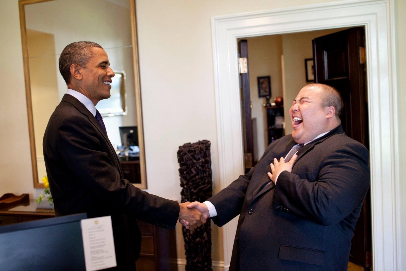 Obama and Gary Lee