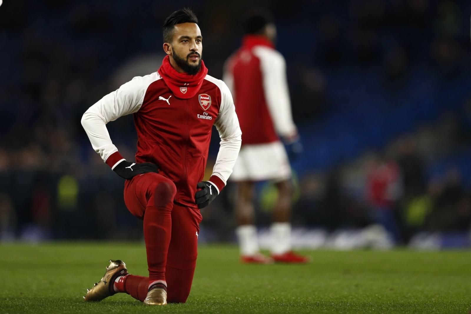 Theo Walcott reveals who convinced him to join Everton