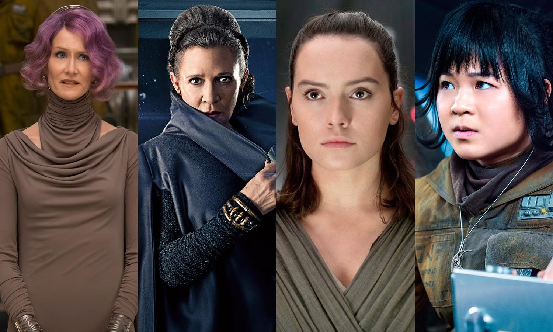 Star Wars The Last Jedi Women