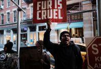 fur protest