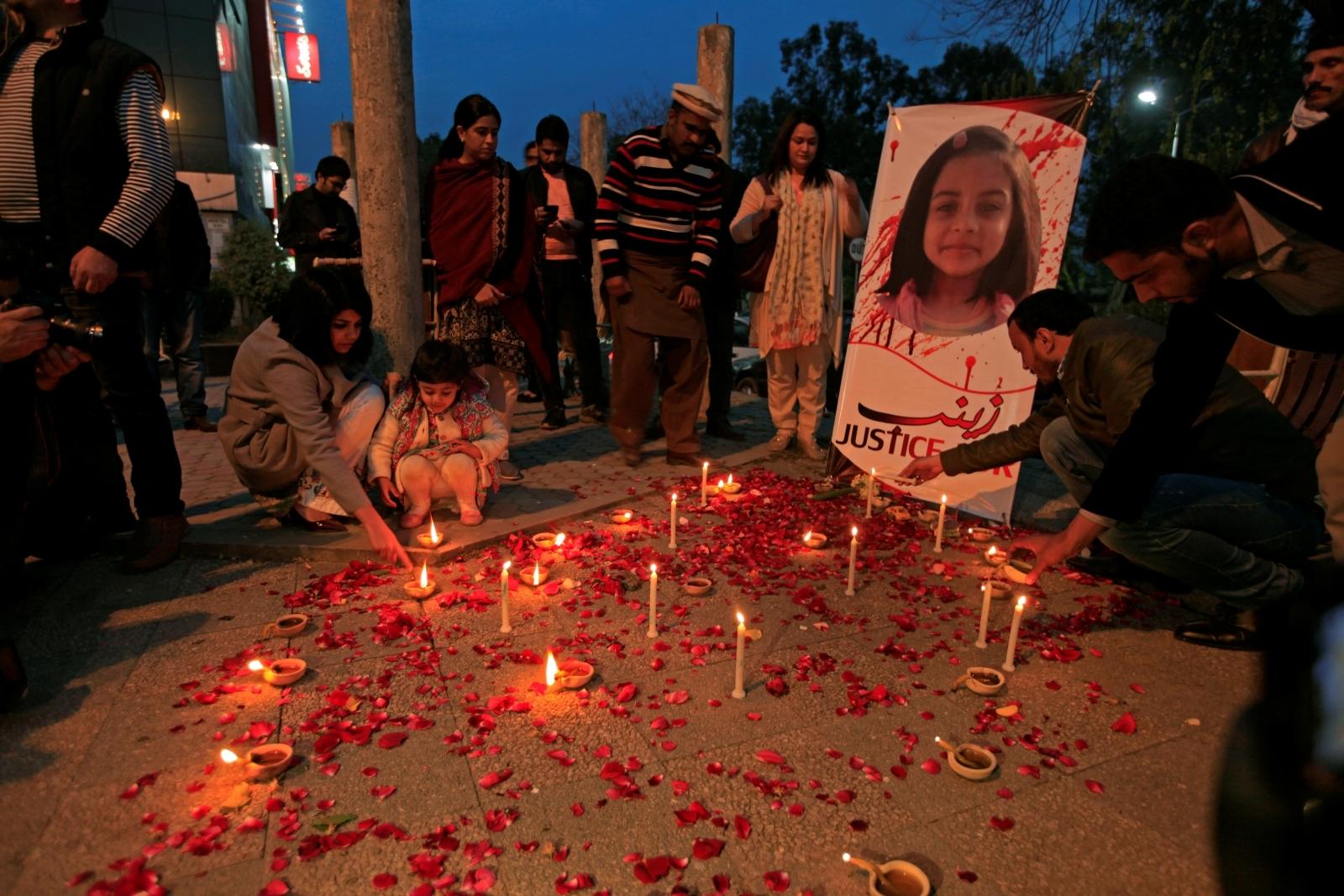 Zainab vigil