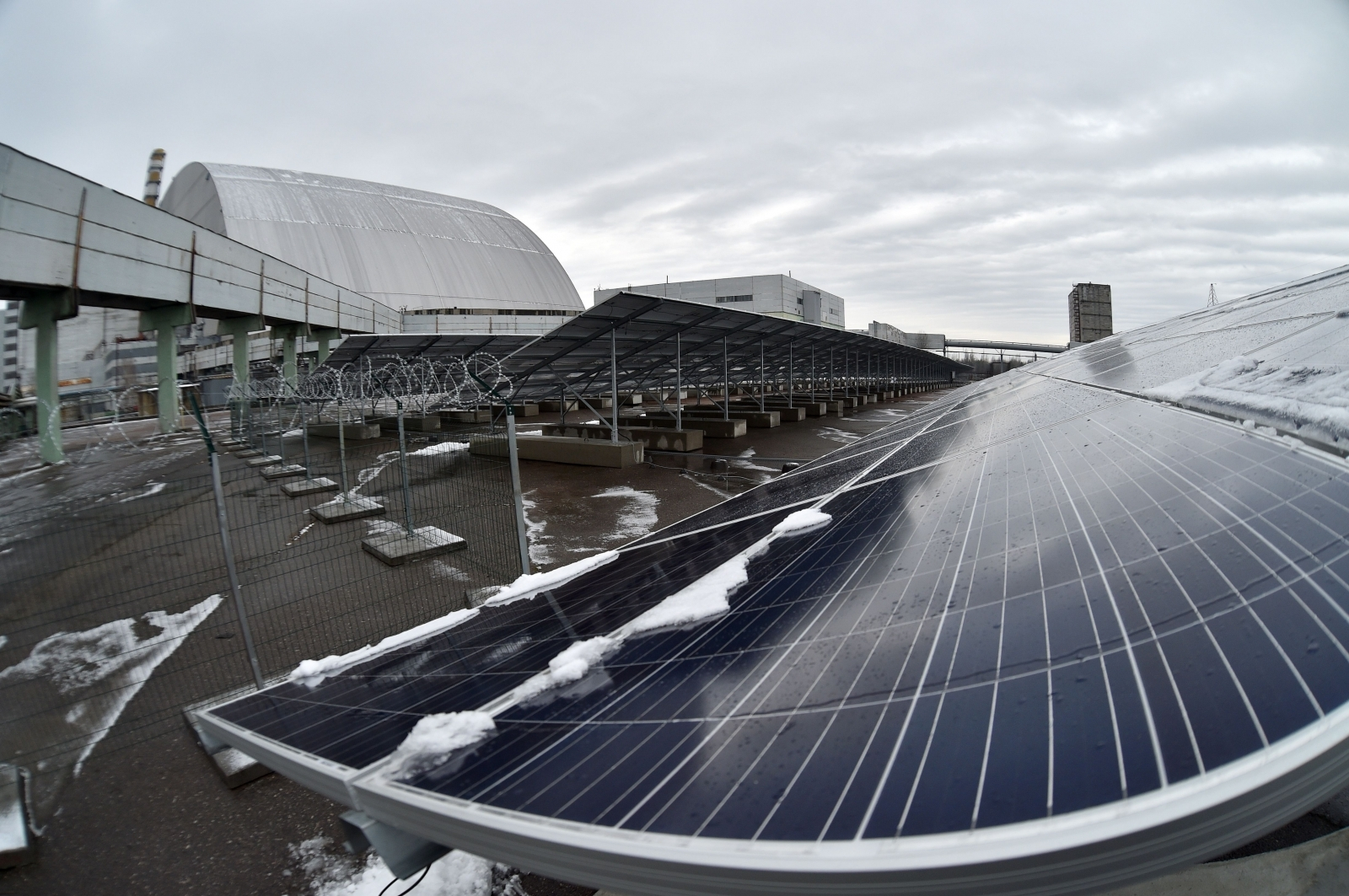 Chernobyl Is Transforming Into A Massive Solar Power Plant