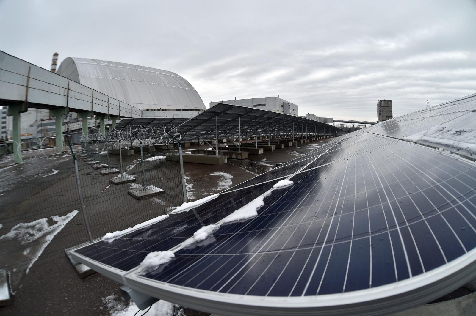 Chernobyl Solar Power Plant