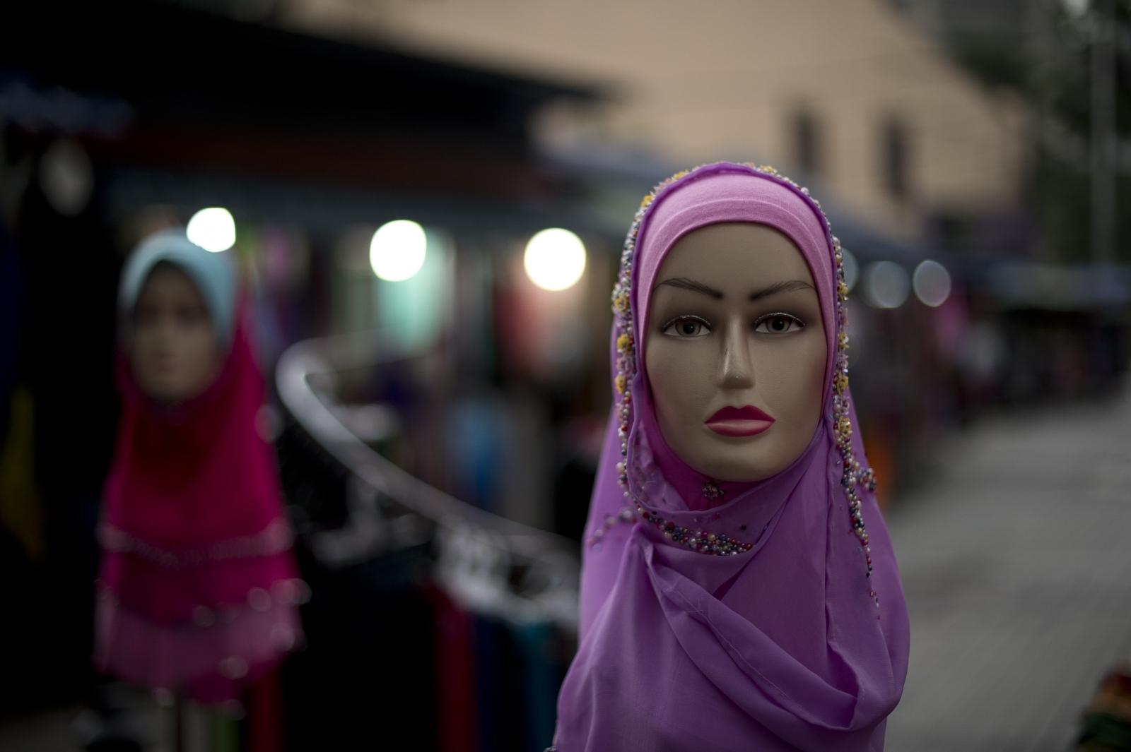 Muslim girl hijab