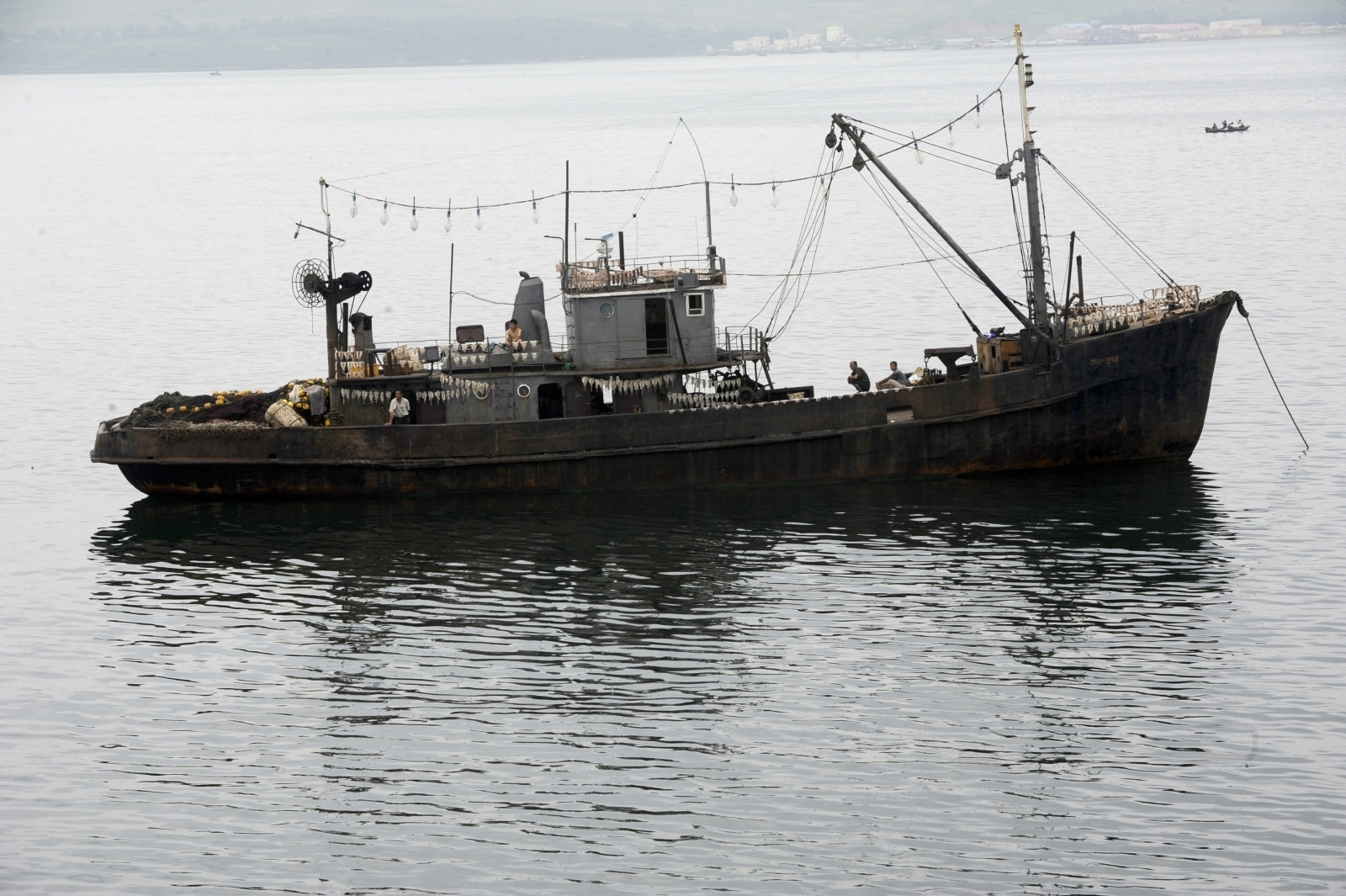 Eight bodies found as North Korean boat washes up in Japan
