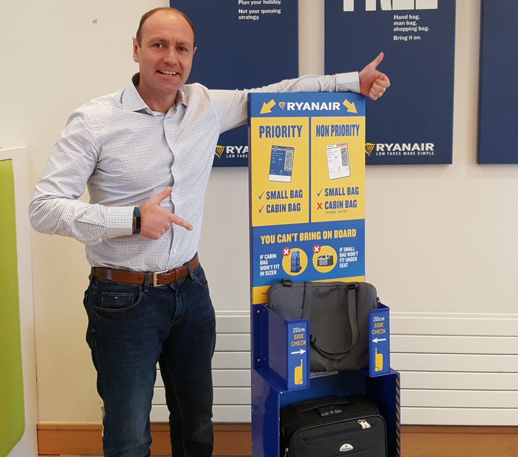 Wheelie Bags No Longer Allowed As Hand Luggage On Ryanair Flights