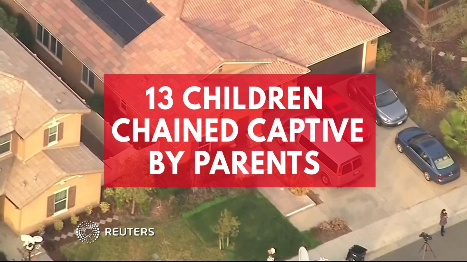 13 children chained captive by parents in California