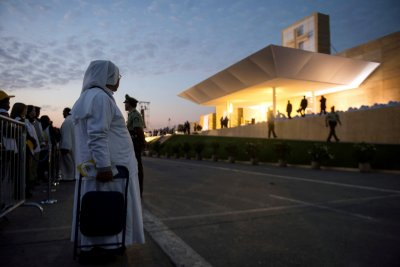 Pope in Chile
