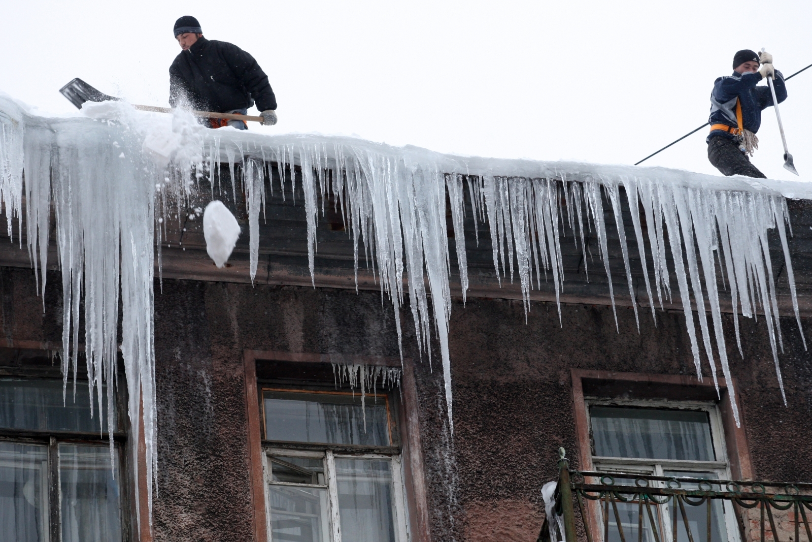 St Petersburg icicles