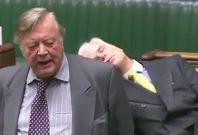 British MP Falls Asleep In Parliament