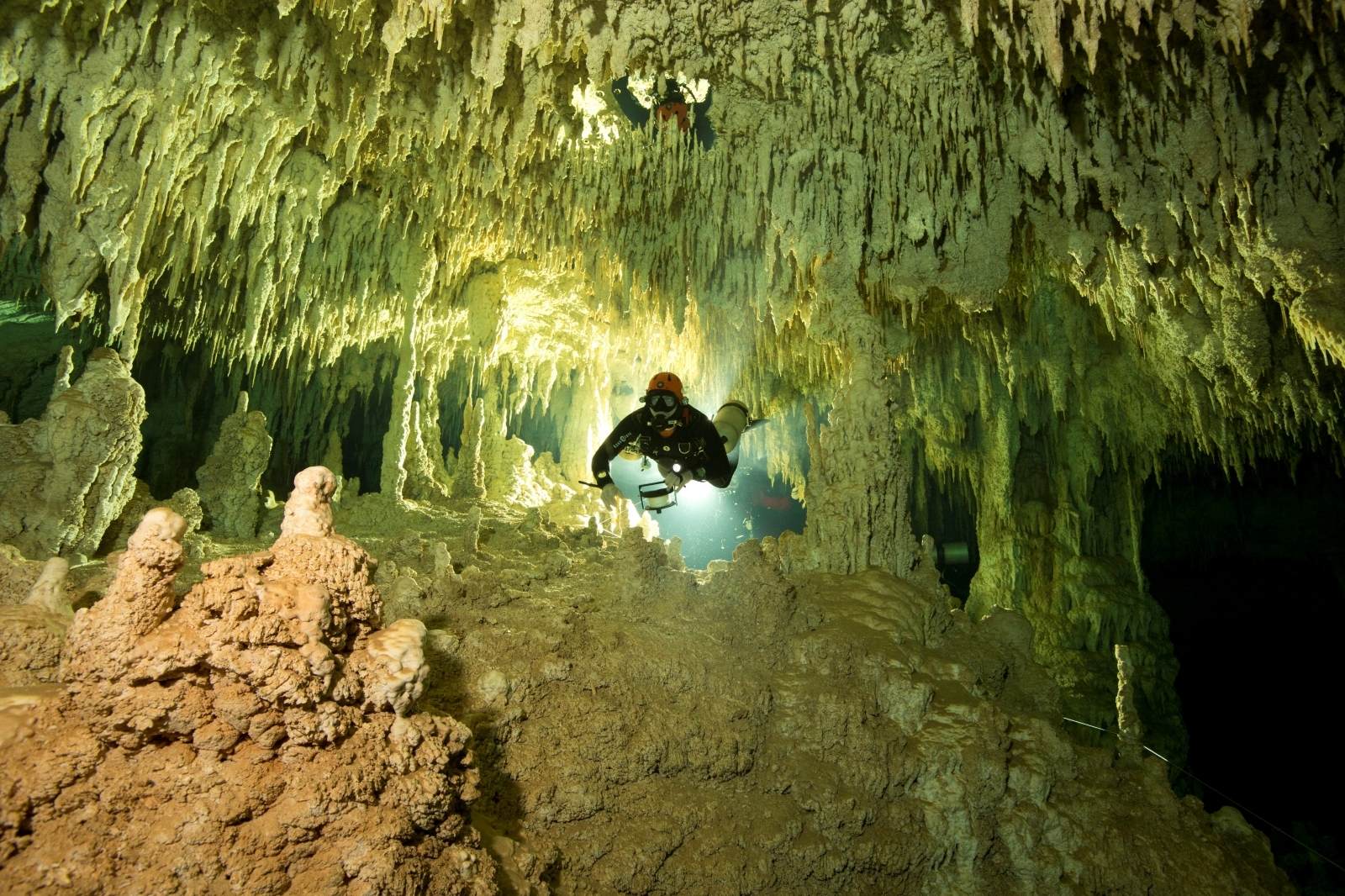 World's biggest underwater cave
