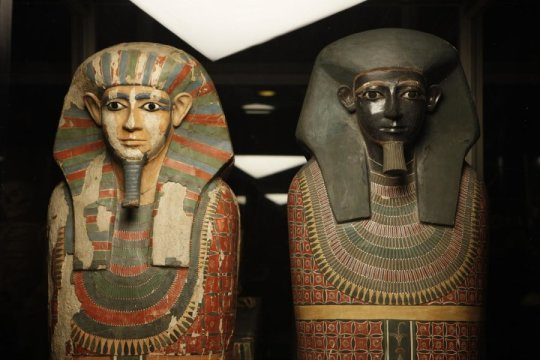 Brotherly mummies had different daddies