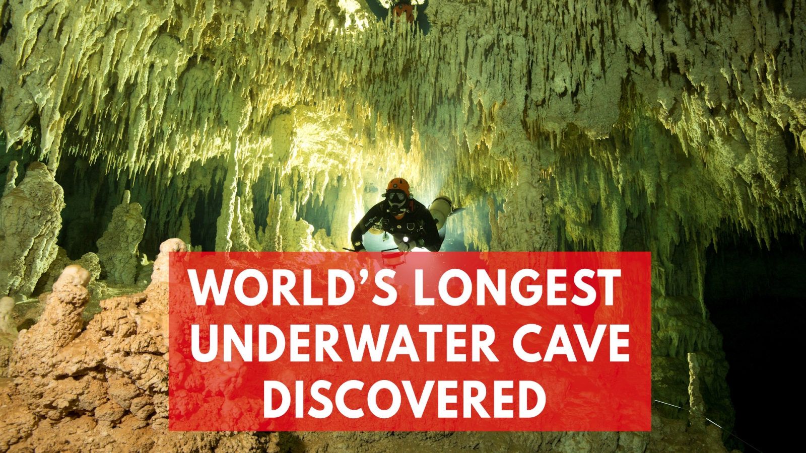 World鈥檚 Biggest Ever Underwater Cave Filled With Ancient Mayan Artefacts Discovered In Mexico