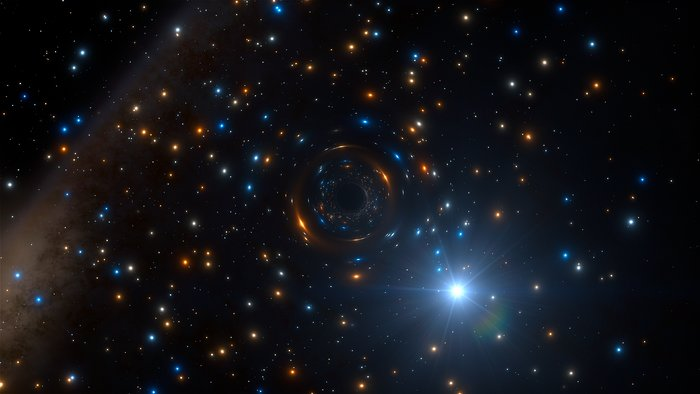 Invisible black hole discovered in globular cluster