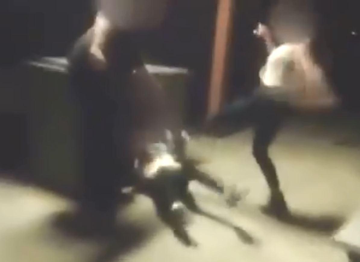 Disabled girl tortured