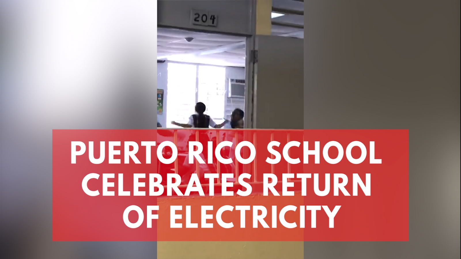 puerto-rico-school-shares-heartwarming-moment-electricity-is-restored-after-112-days