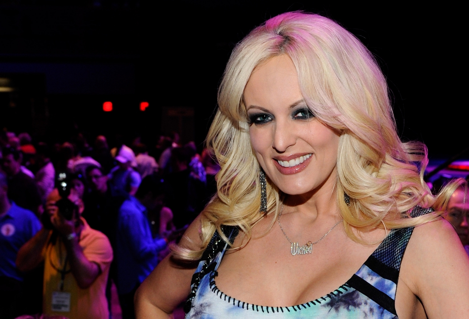 Trump is 'obsessed' with sharks but hopes they all die, claims porn star Stormy Daniels