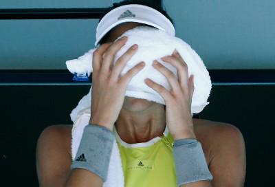 Australian Open 2018 heat