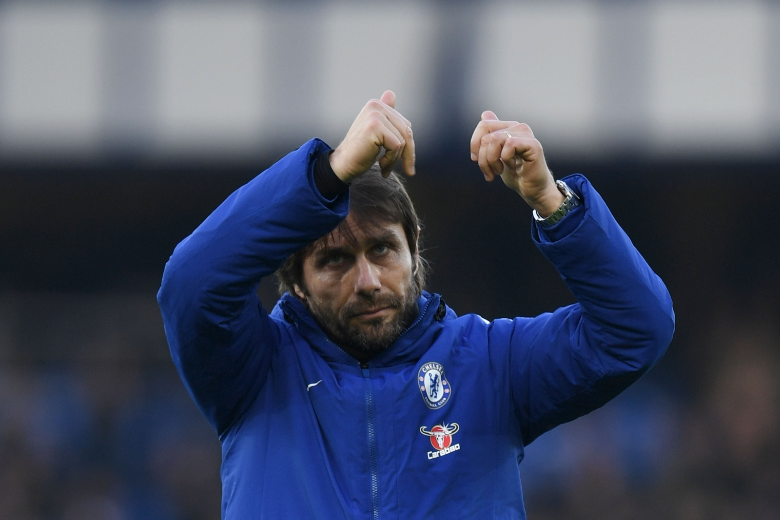 Antonio Conte praises Chelsea players after