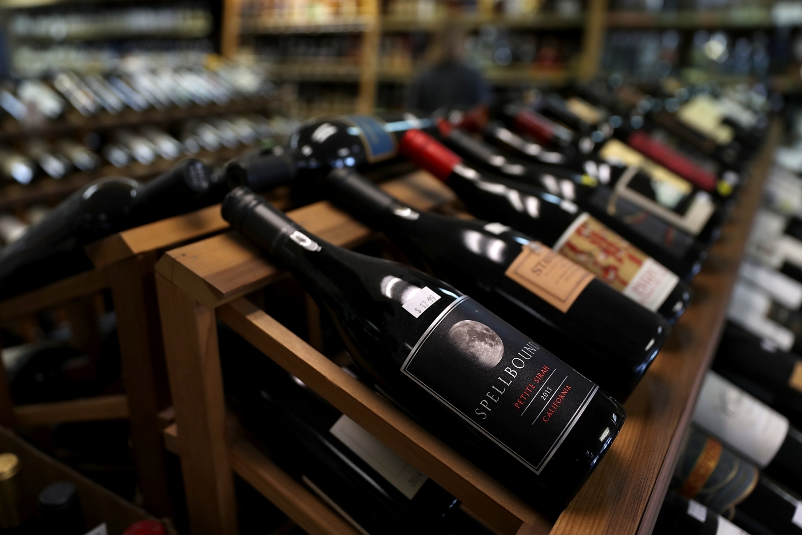 Wine bottles Getty Images & In the red: Goldman Sachs co-president had $1.2m worth of rare wine ...