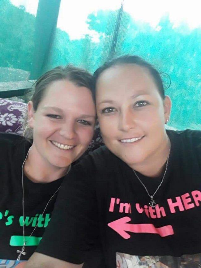 Anisha and Joey van Niekerk