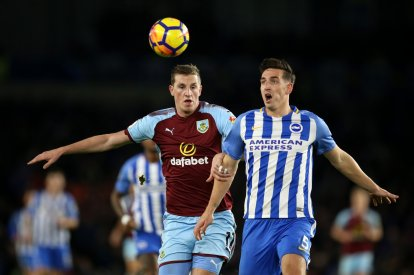 Chris Wood and Lewis Dunk