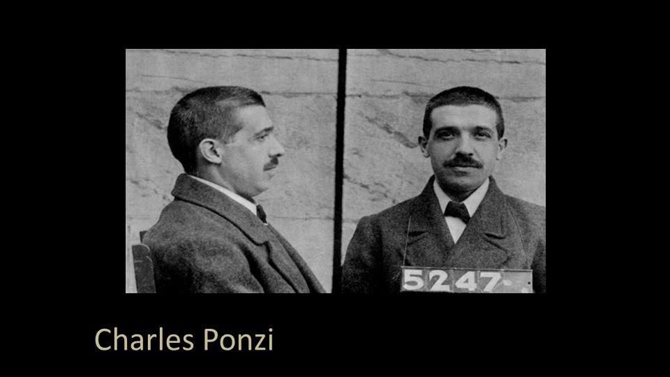 Charles Ponzi – the Italian convict who gave his name to financial scams – died 69 years ago today
