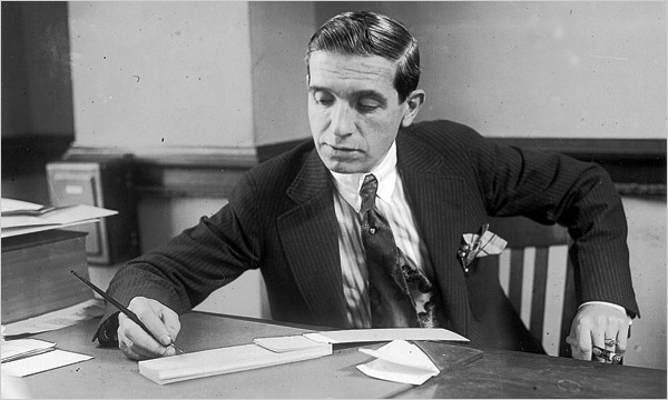 Charles Ponzi's 1920 deception was based around trading international postal reply coupons