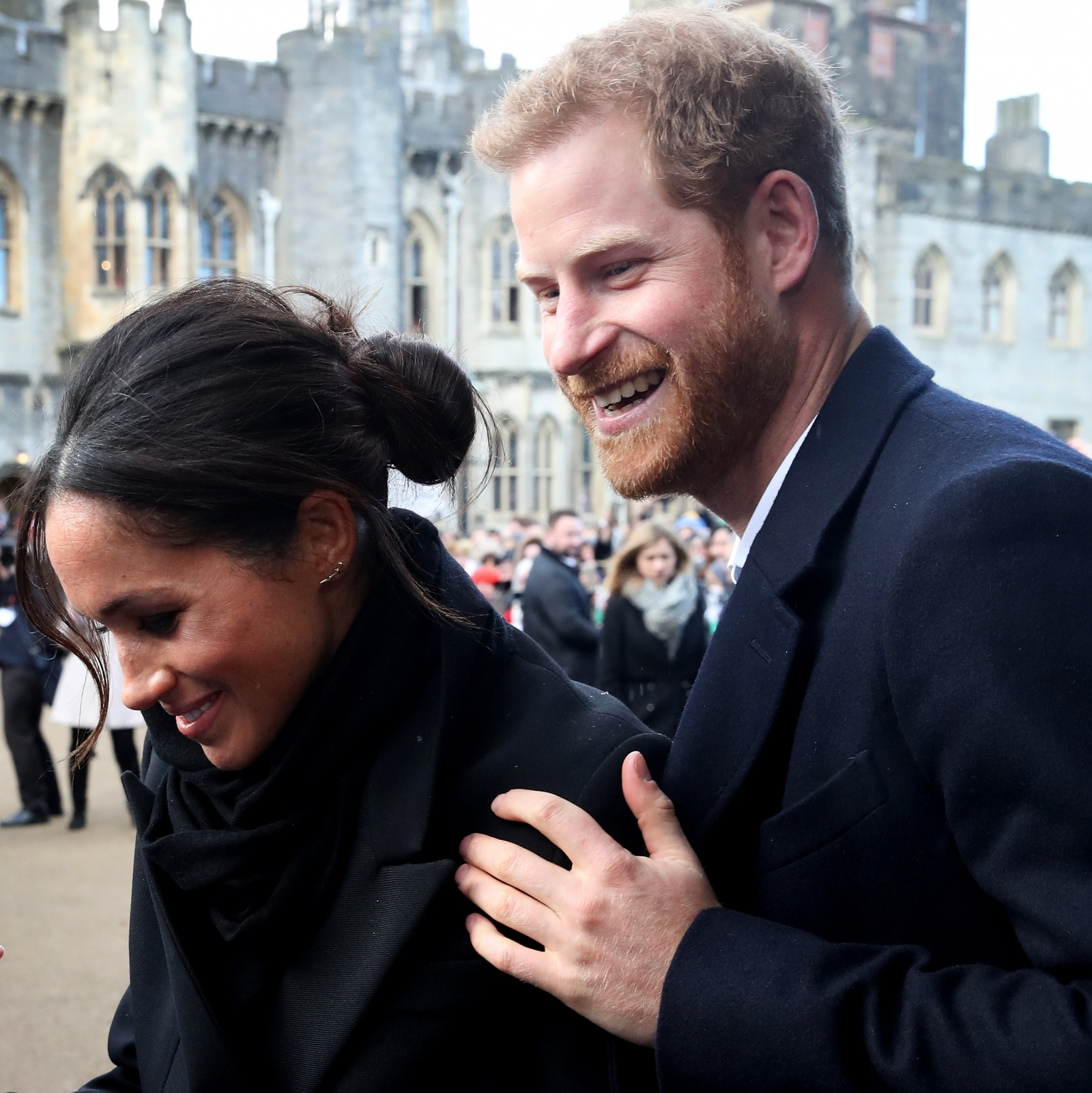 Prince Harry and Meghan Markle on royal tour to Wales