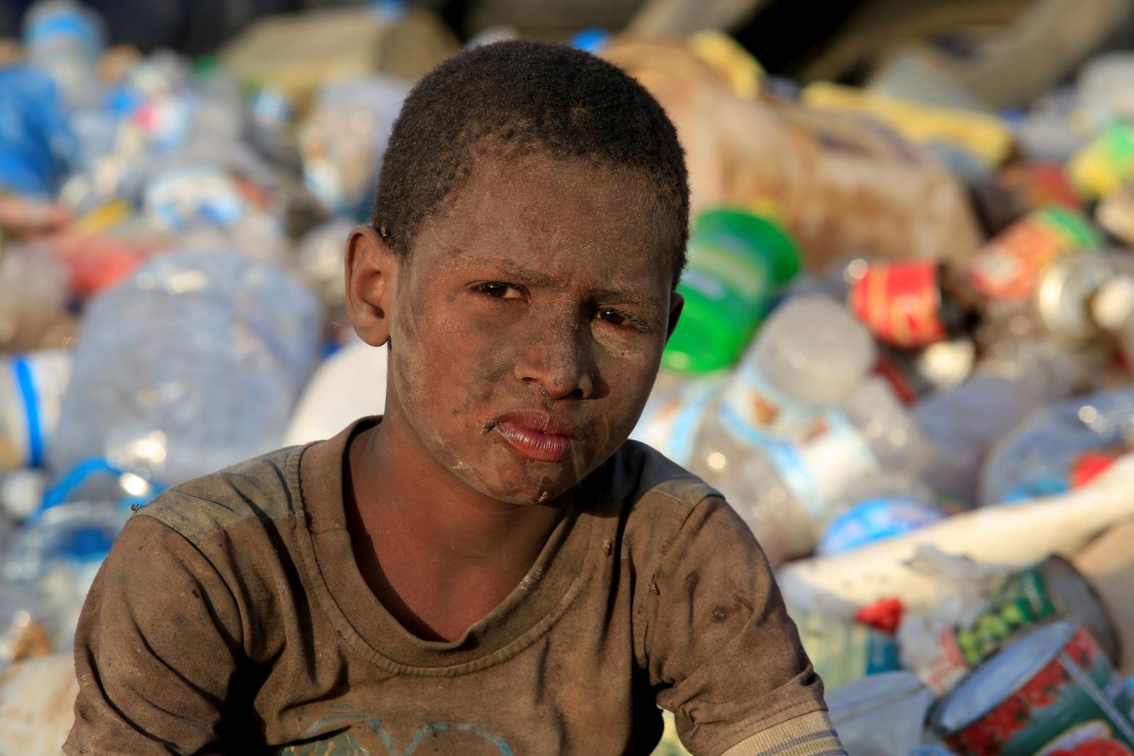 Yemen famine dump