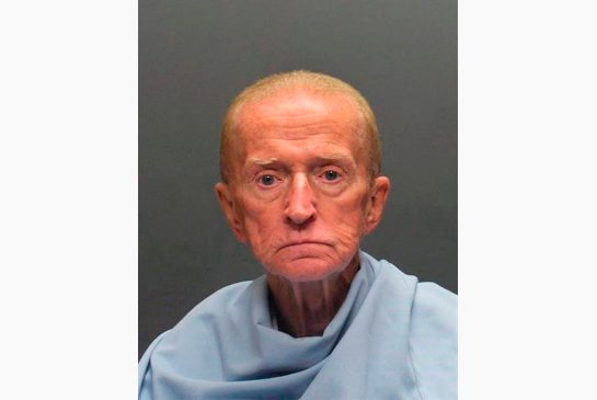 Robert Francis Krebs, 80, has been charged with armed robbery at a bank
