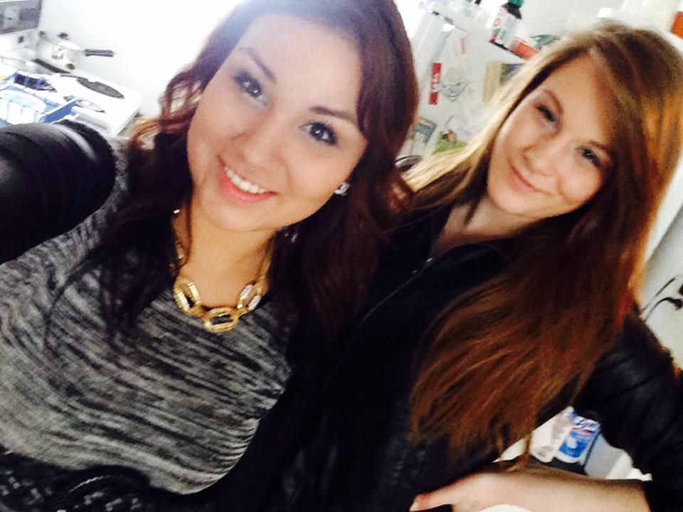 Cheyenne Antoine and Brittney Gargol