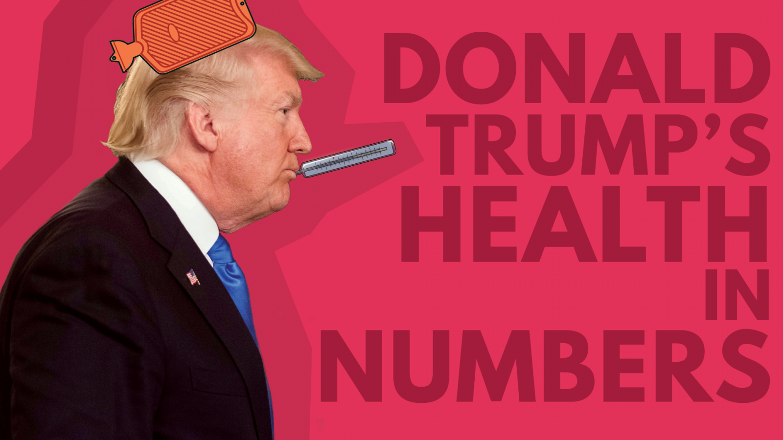 Donald Trump's health in numbers
