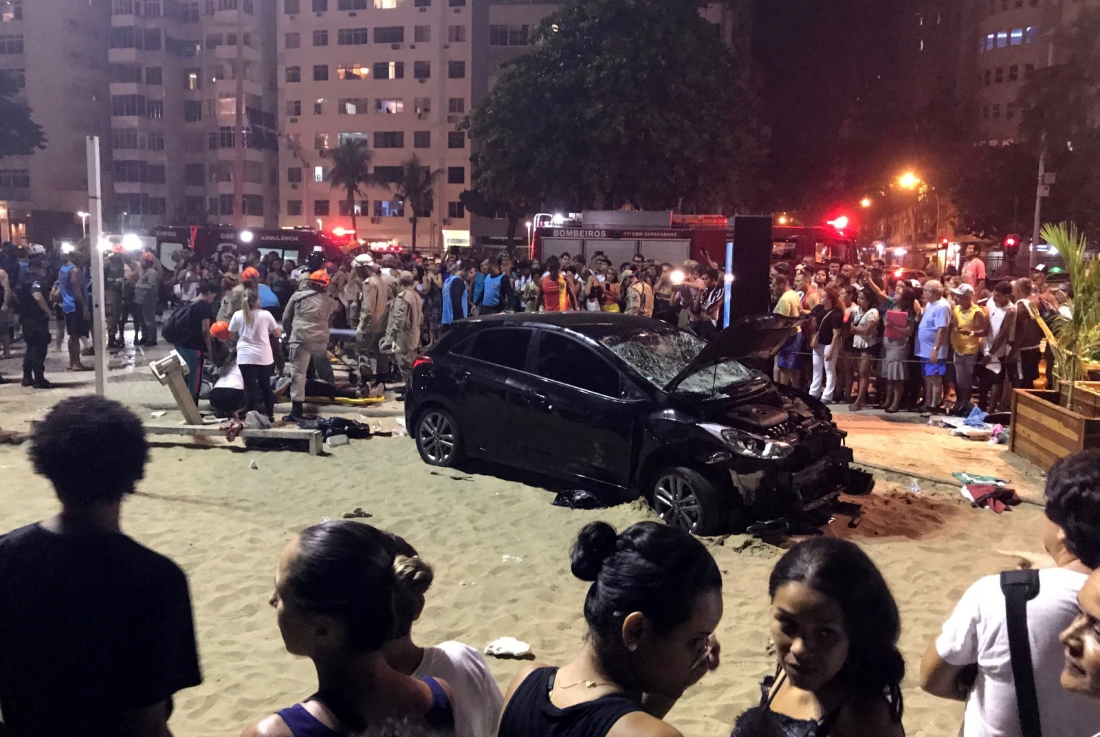 Copacabana beach incident