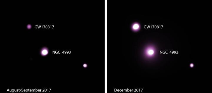 Kilonova neutron star merger