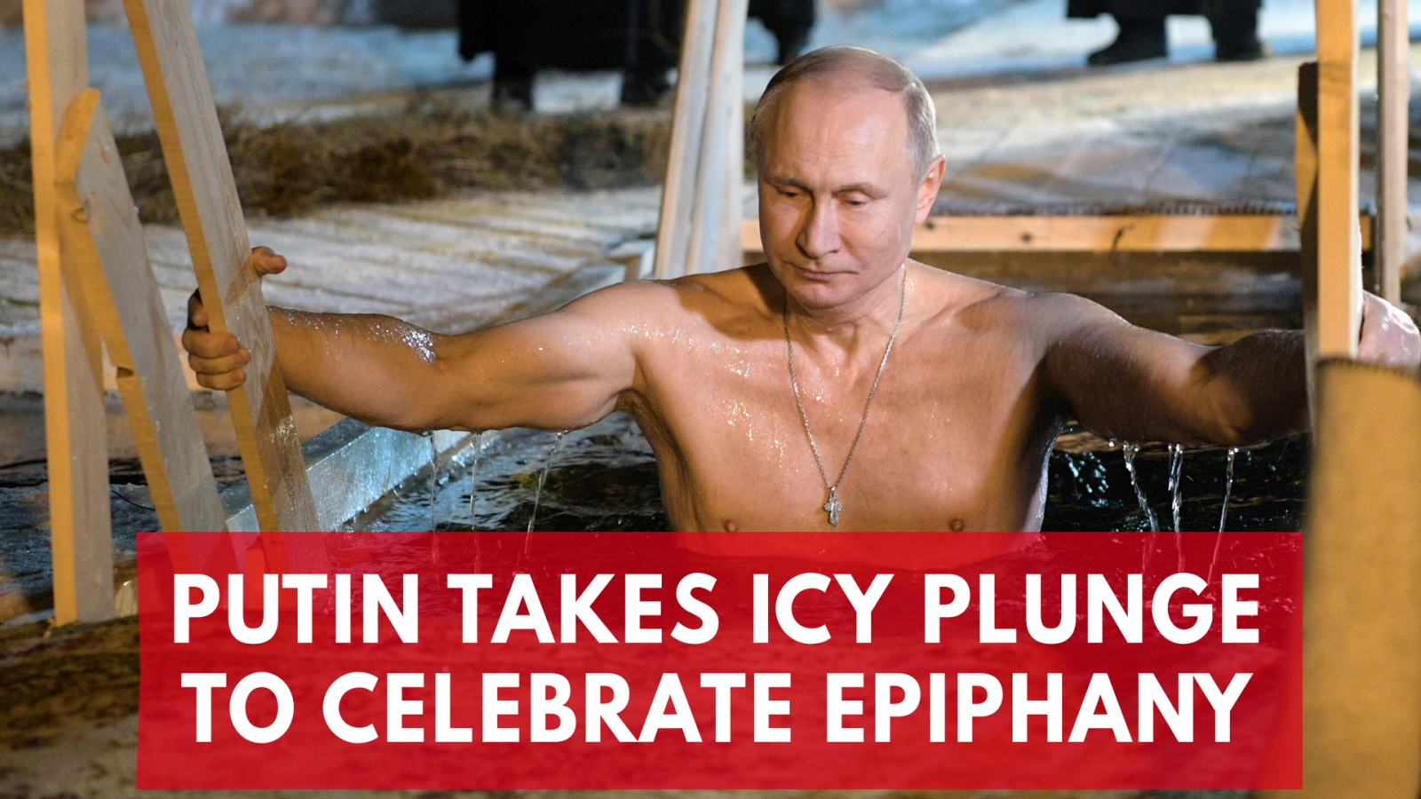 Putin takes icy plunge to celebrate epiphany