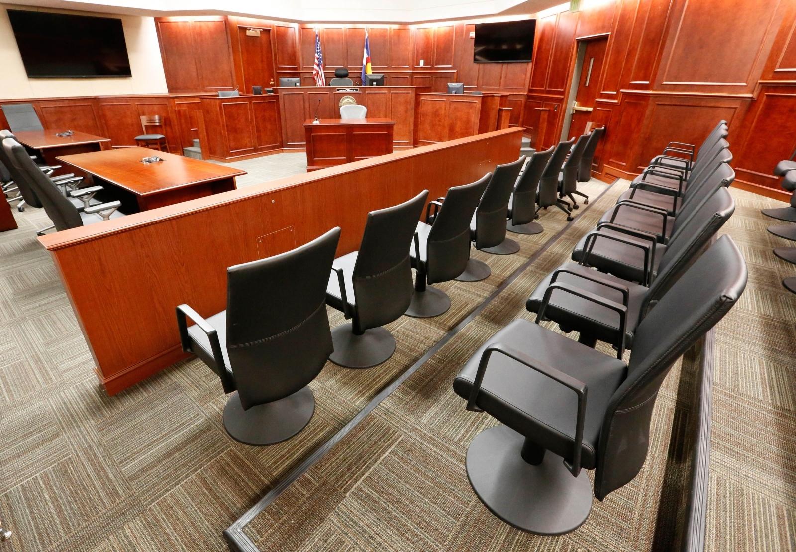 US courtroom