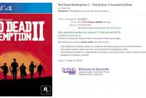 Amazon Mexico Red Dead Redemption 2
