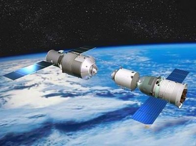 China's own 60-tonne space lab, much smaller than the ISS