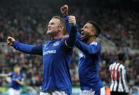 Wayne Rooney and Aaron Lennon