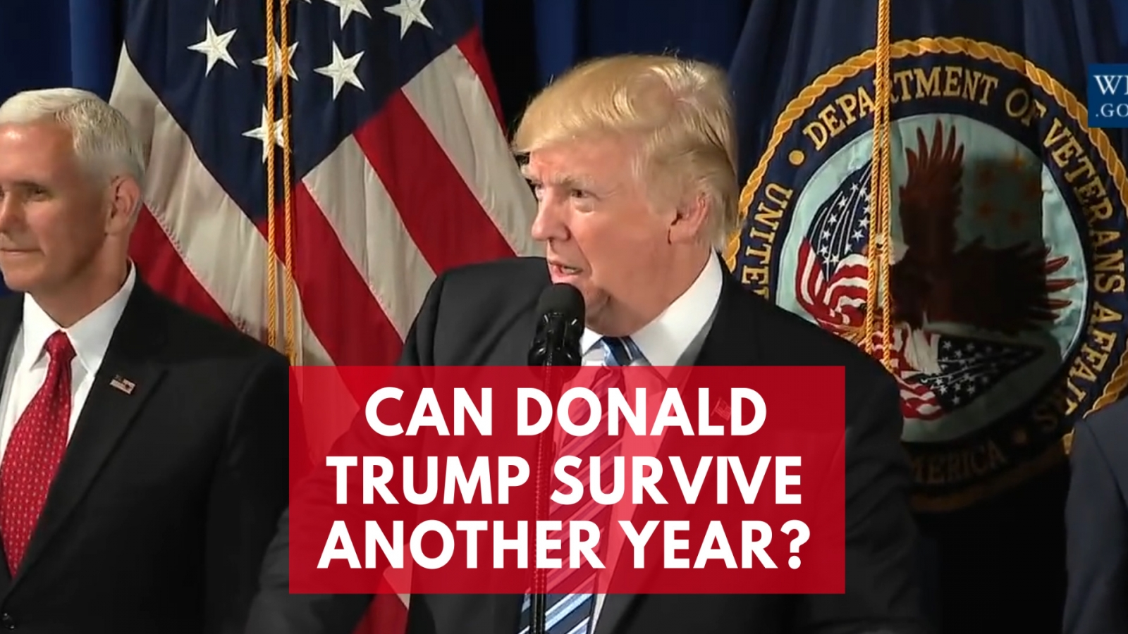 Can Donald Trump survive another year?