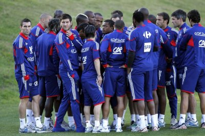 France 2010 World Cup Squad and Raymond Domenech