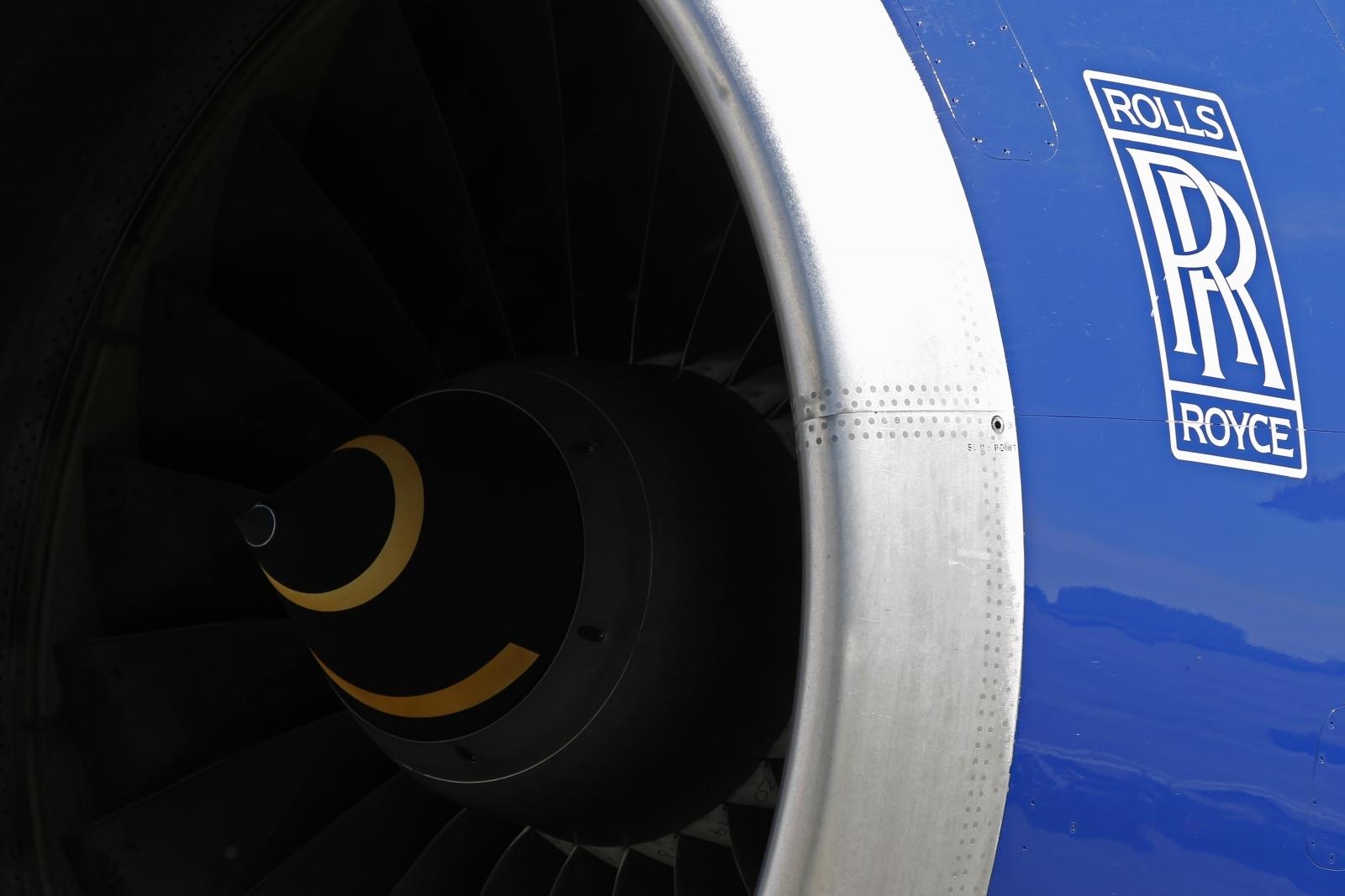 Rolls Royce turbine