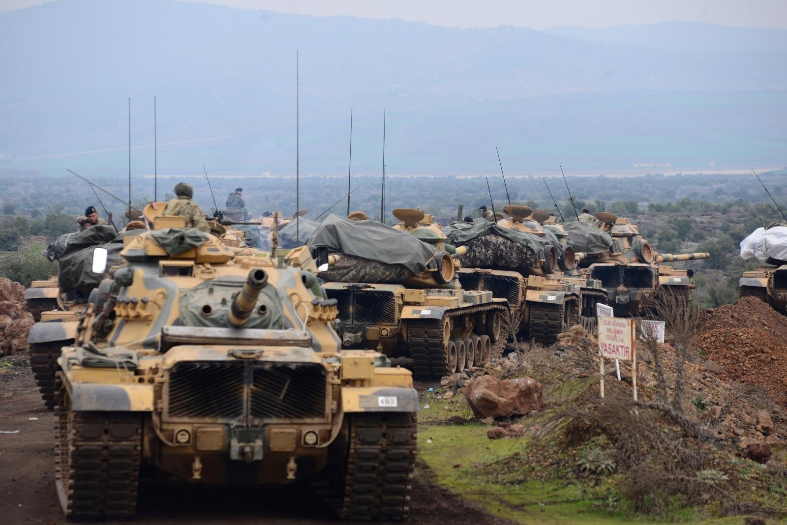 Turkey Syria tensions