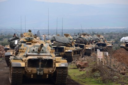 Turkey Syria tensions