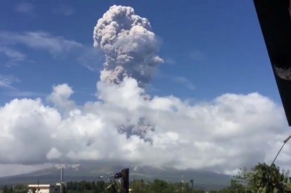 Mount Mayon volcano Phillipines
