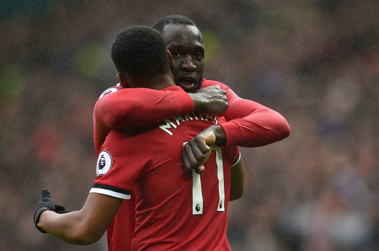 Romelu Lukaku and Anthony Martial
